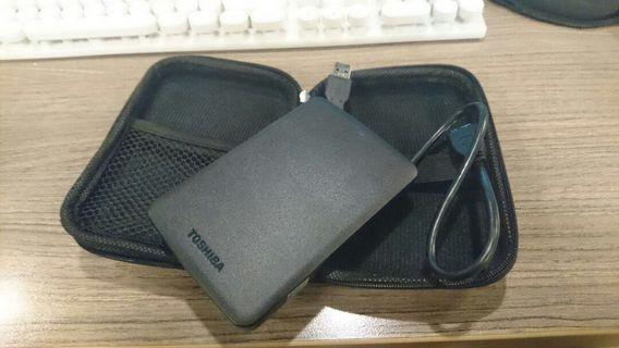External hard disk Hard disc Toshiba 1 Tera murah not seagate