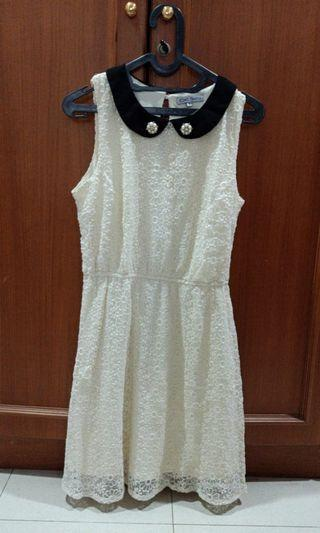 CHIC SIMPLE White Dress