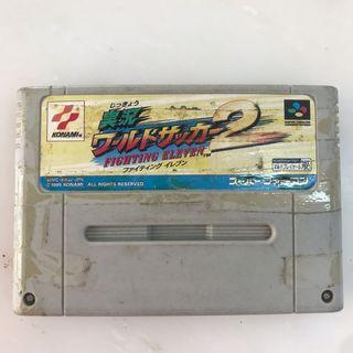 Super famicom fighting eleven 2 cart