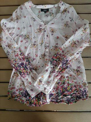 Flying Nomad loose blouse