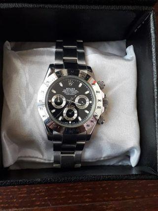 Jam tangan Rolex daytona sporty. AUTOMATIC. MIRROR