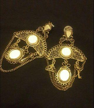 Anting victorian style