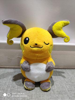 Banpresto Winking Raichu Pokemon Plush