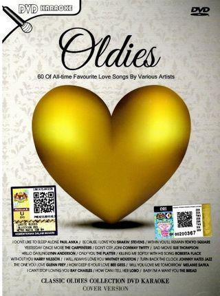 """60 English Classic Oldies Collection DVD Karaoke """"Cover Version"""""""