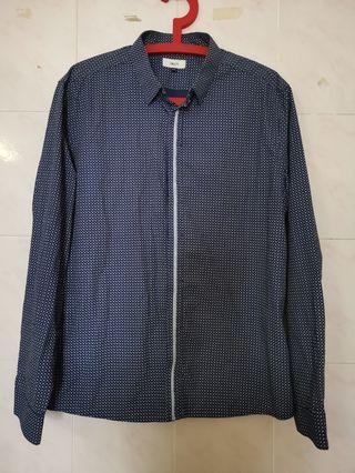 G2000 BLUE PRINTED LONG SLEEVE(price with postage)