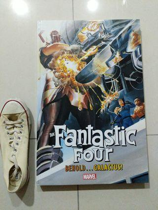 Fantastic Four galactic sized hardcover Behold Glactis collection