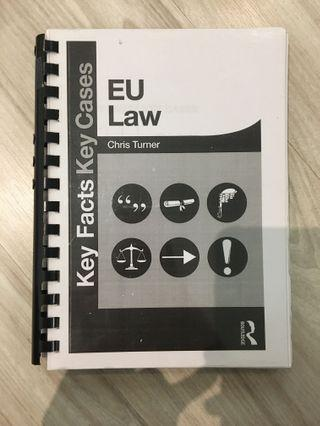EU law- key cases key facts by Chris Turner