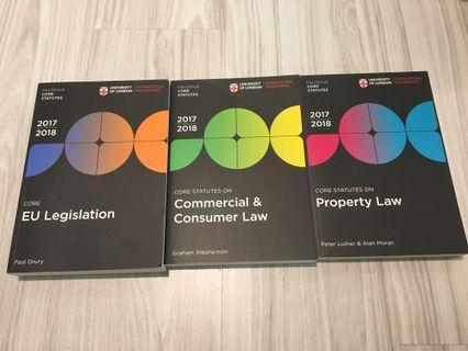 Statute books- EU (Property & Commercial- SOLD)