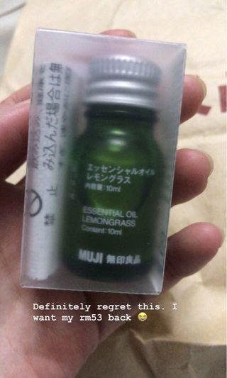 Muji Lemongrass Essential Oil