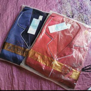 (INC POS) Satin Pyjamas One Set
