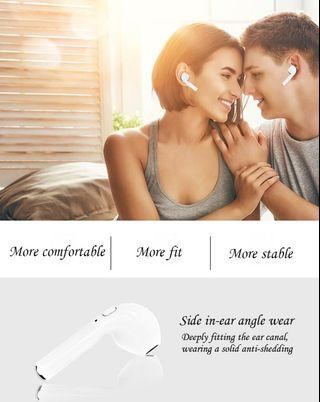 i7 i7s TWS Wireless Bluetooth Earphones In-Ear Music Earbuds Stereo Headset Box Andriod iOS Calls Support