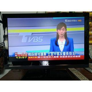 中古液晶電視 24吋 LED TCL L24D3270F 二手液晶電視