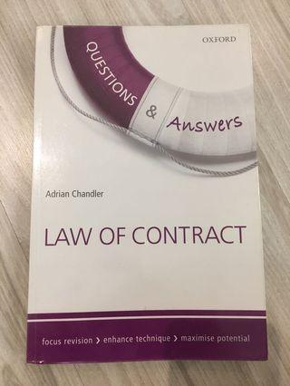 (AUTHENTIC) Law of Contract Q&A (Oxford)