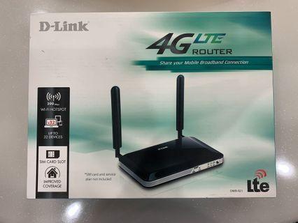 D Link 4G LTE Router (DWR-921)