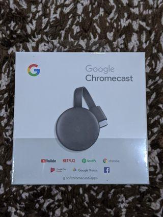 Chromecast 3, New in Box