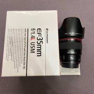 Canon 35MM F1.4 USM (公)