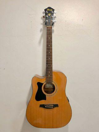 Ibanez Left Handed Acoustic Guitar