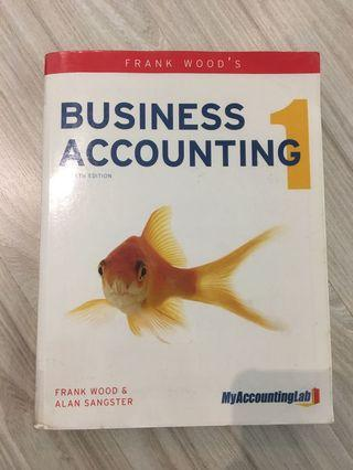 Business Accounting 1 by Frank Wood