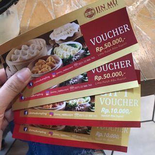Voucher Restoran Jin Mu