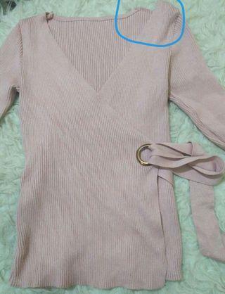 Knit kimono import boleh barter