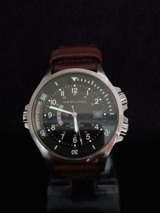 Hamilton Khaki Navy GMT Automatic Watches