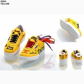 Asli import Sneakers Coco Chanel Syahrini