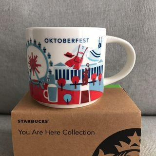 🆕 Starbucks Limited Edition Oktoberfest You Are Here Collection Mug