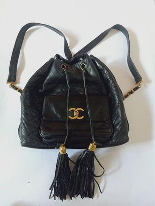AUTH CHANEL BACKPACK