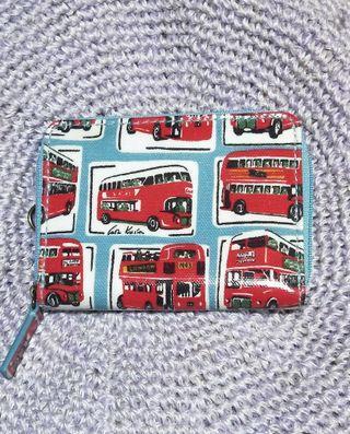 cath kidston 英國 零錢卡夾 巴士款