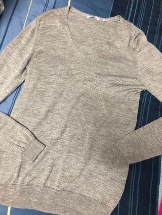 Uniqlo pure wool top S