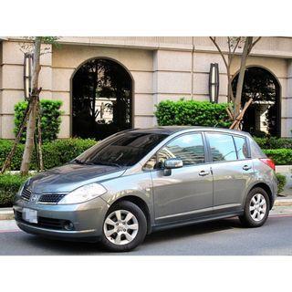 2006 日產 TIIDA 一手車 頂級配備 有IKEY 電動天窗  恆溫 倒車雷達 雙安全氣囊