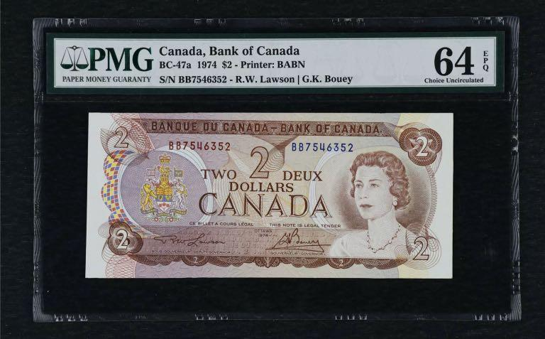Thank you for looking at my item😀feel free to make me an offer on anything you like 👀 ) 1974 Canada 🇨🇦 2 Dollars