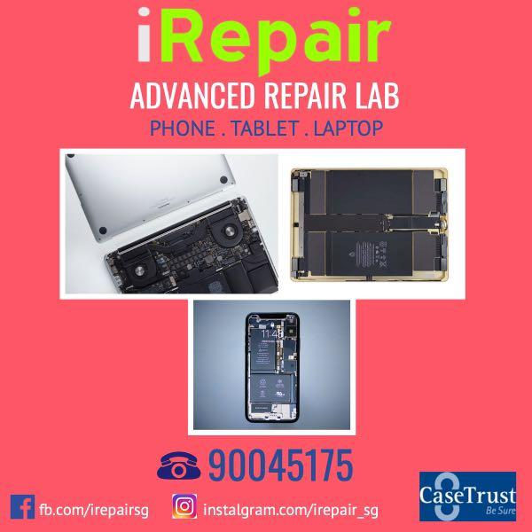 #1 CaseTrust accredited repair centre you can trust