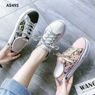 Asli import Sepatu Fashion Lady Sangat ringan dan nyaman dipakai All😍😍 Series : AS495