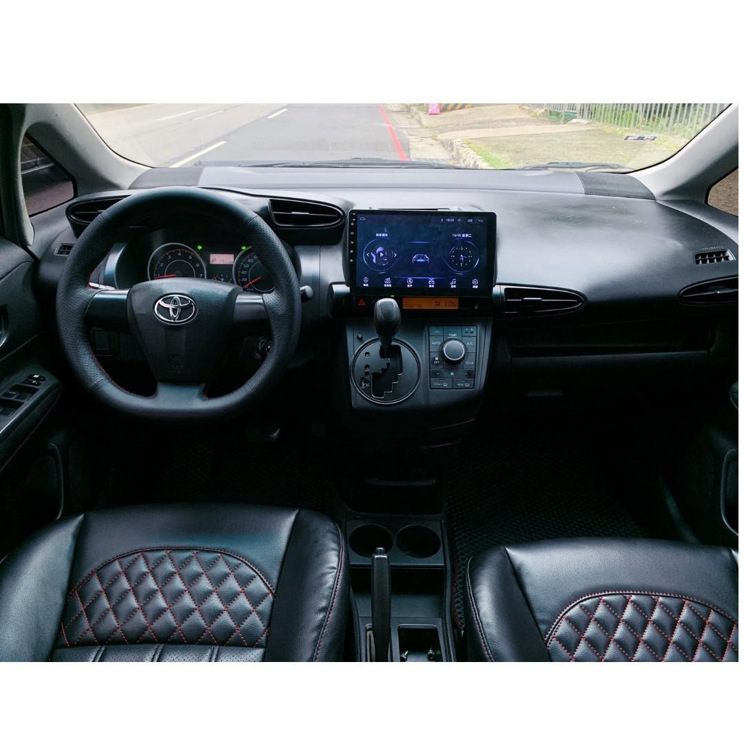 正2012年 最新款Toyota Wish 2.0E 定速高階版 原廠黑色✨