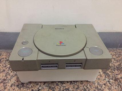 復古古董 初代PlayStation PS1代 主機