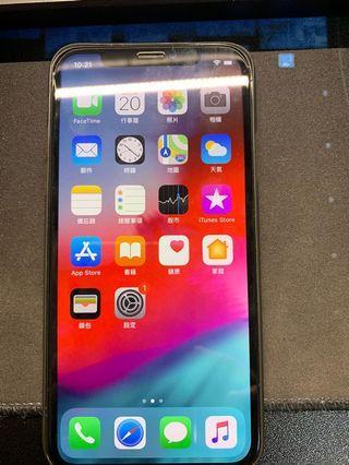 iPhone x 256GB 太空灰 蘋果官網貨 附購買證明