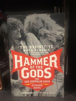Hammer of the gods the ledzeppelin saga book