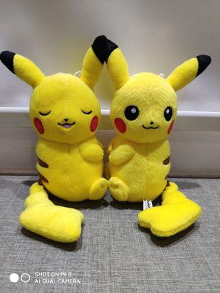 Banpresto Pikachu Couple Pokemon Plush