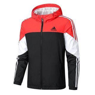 全新現貨Adidas連帽外套愛迪達風衣防風保暖運動外套