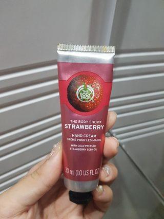 The Body Shop Hand Cream Strawberry
