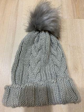 #五折清衣櫃 Asos灰色毛帽