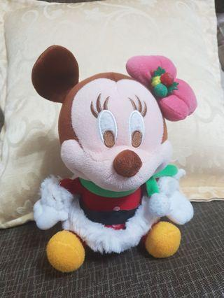 聖誕米妮小姐,原價299,23×15公分,~9成新,唯此一隻唷