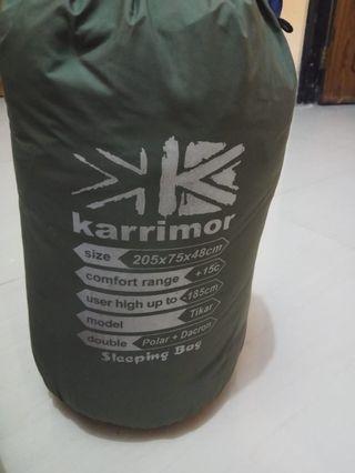Sleeping Bag Polar+Dacron merk Karrimor