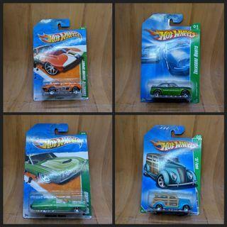 Hot Wheels Paketan TH Treasure Hunts 4 Pcs