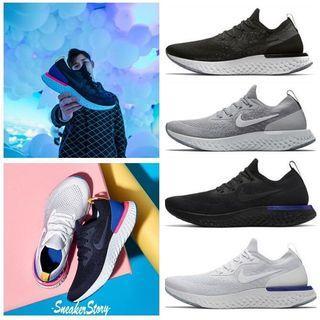 全新現貨Nike epic reactflyknit 瑞亞休閒運動鞋 男女跑步鞋
