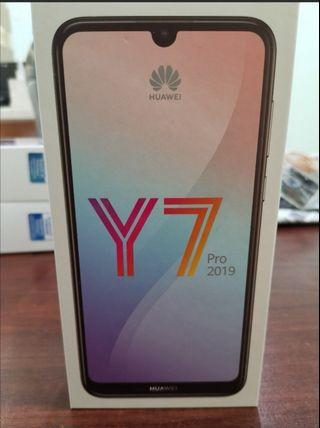 Huawei Y7 Pro 2019 (sealed and new)