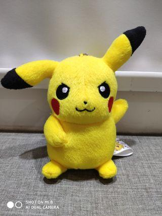 Banpresto Angry Pikachu Pokemon Plush