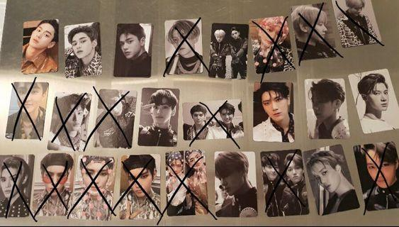 WTS SuperM Unrevealed Photocard