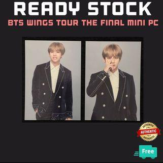 WINGS TOUR THE FINAL MINI PHOTOCARDS